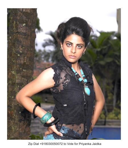 vanishree n,akhila kishore and priyanka jaidka were contestants in miss bangalore 2010